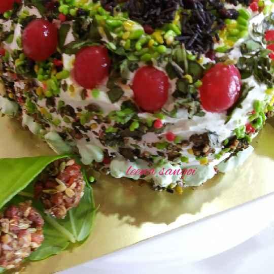 How to make Gulkand paan Masala Cake..
