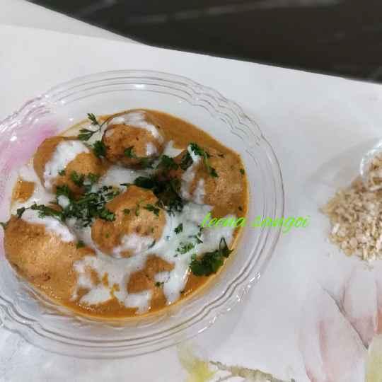 Photo of Oats Bottle Gourd Kofta Curry by Leena Sangoi at BetterButter