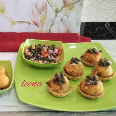 Photo of Burmese Pyazo With Mexican Toadtada Tart by Leena Sangoi at BetterButter