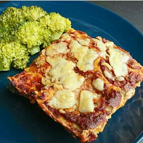 Photo of Bread Lasagna with broccoli salad by Leena Taneja at BetterButter
