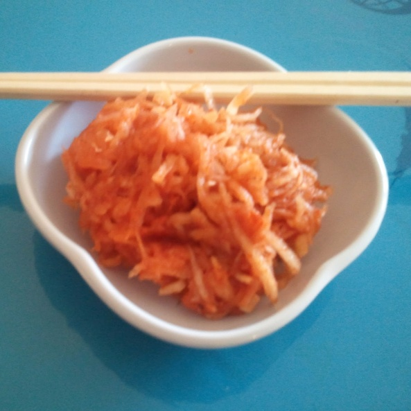 Photo of Thinly Sliced Radish Kimchi by Linsy Patel at BetterButter