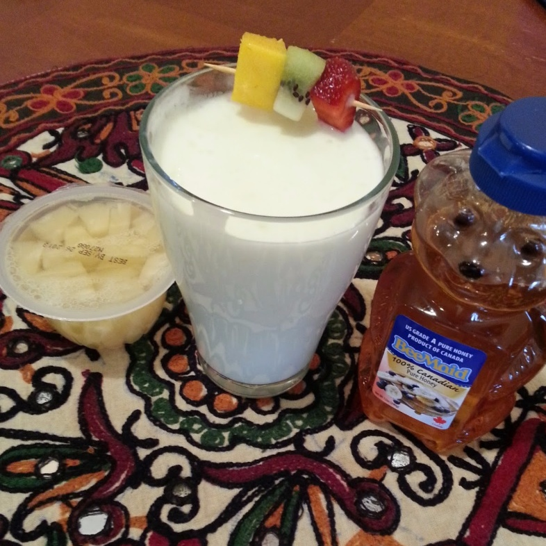 How to make Pina Colada Lassi