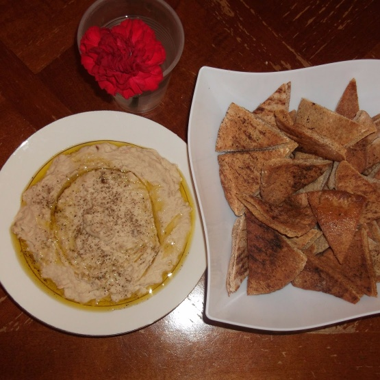 Photo of White Bean & Roasted Eggplant Hummus by Linsy Patel at BetterButter