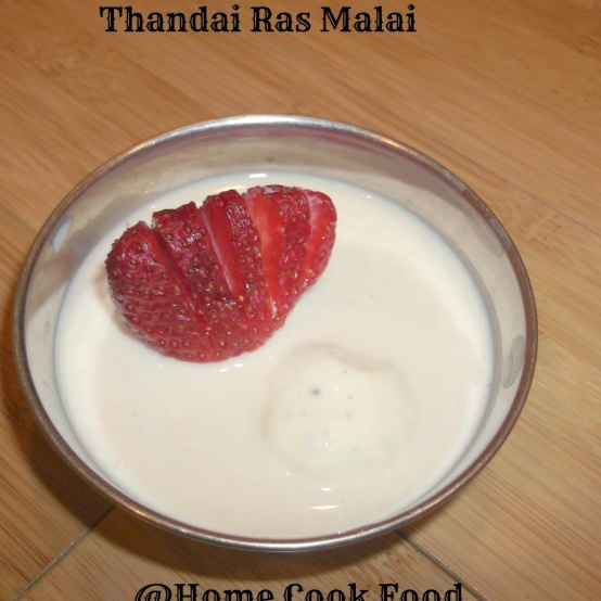 Photo of Thandai Ras Malai / Cottage cheese balls in Spiced Milk by Linsy Patel at BetterButter