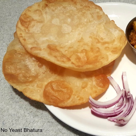 Photo of Quick No Yeast Bhature by Linsy Patel at BetterButter