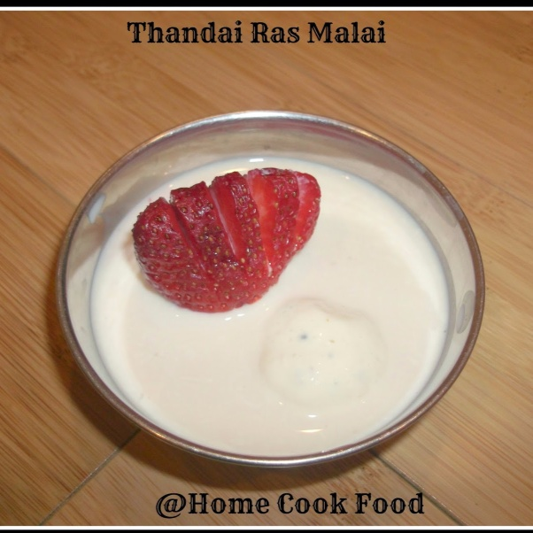 Photo of Thandai Ras Malai by Linsy Patel at BetterButter