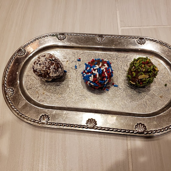 Photo of Date Balls Stuffed with Gulkand by Linsy Patel at BetterButter