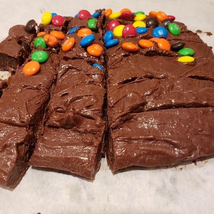 How to make Easy 2 Ingredients  Chocolate Fudge - Microwave version