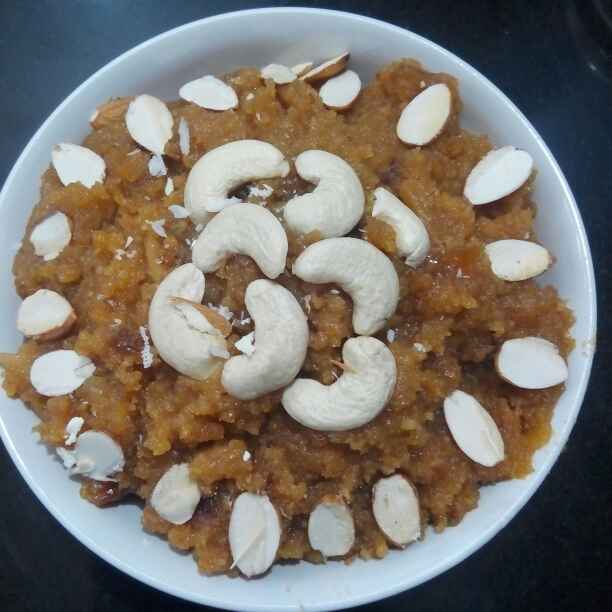 How to make Instant moong dal halwa