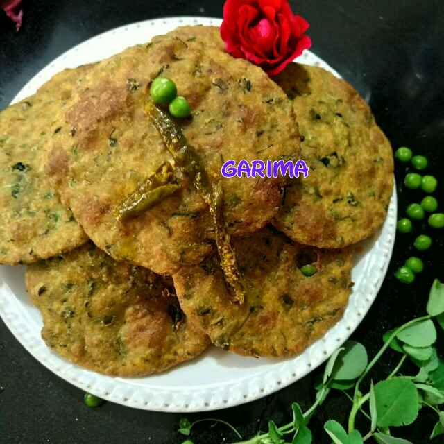 Photo of Methi matar ki poori by Lion Garima at BetterButter
