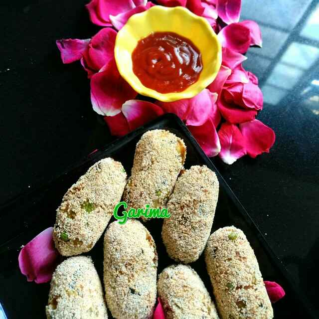 How to make Veggie cutlet