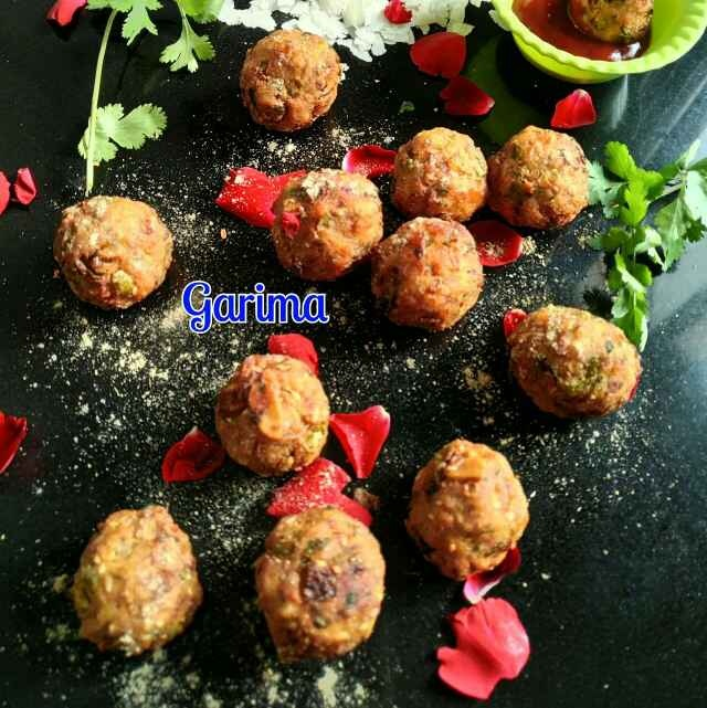 Photo of Crispy poha balls by Lion Garima at BetterButter