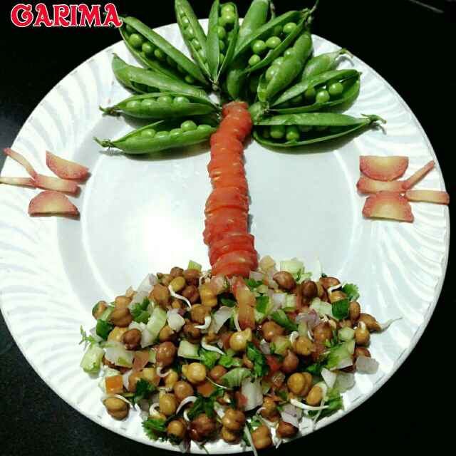 How to make Chana Sprout Salad