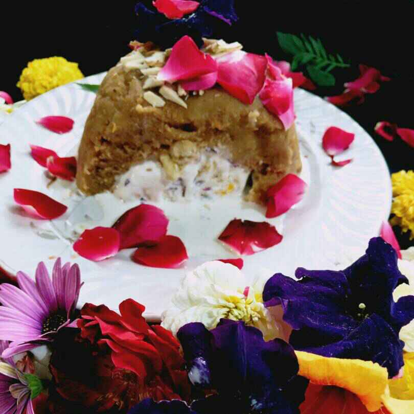 Photo of Vanilla  icecream stuffed rusk halwa by Lion Garima at BetterButter