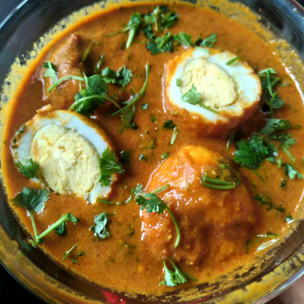 Photo of Egg butter masala by Lion Garima at BetterButter