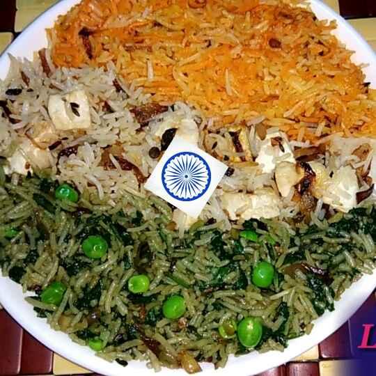 Photo of Tiranga pulao by Lipika Mishra at BetterButter