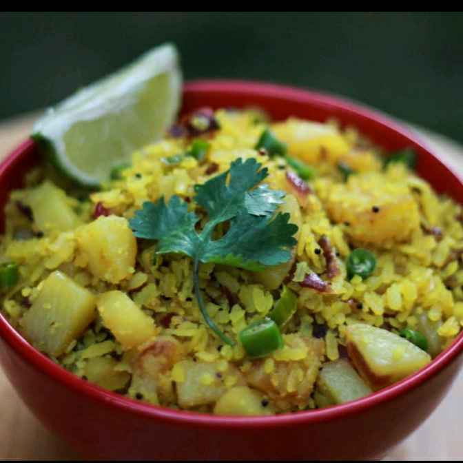 Photo of Chuda santula | vegetable poha by Lipika Mishra at BetterButter