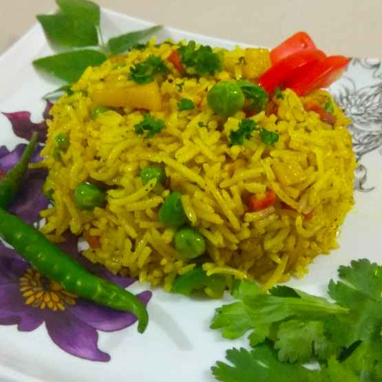 Photo of Tadka rice by Lipti Ladani at BetterButter