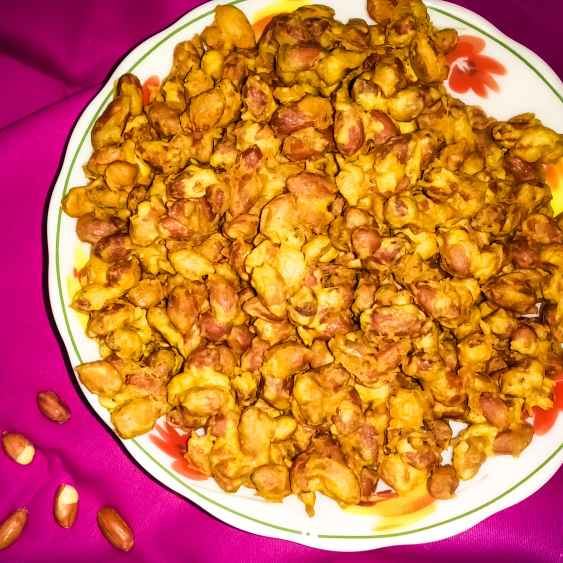 How to make ক্রাঞ্চি মশলা বাদাম