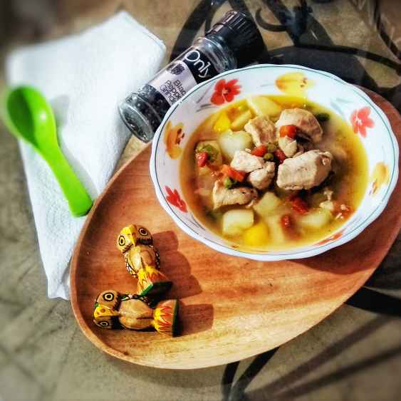 How to make Chicken vegetable stew