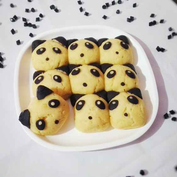 How to make Panda pull apart bread