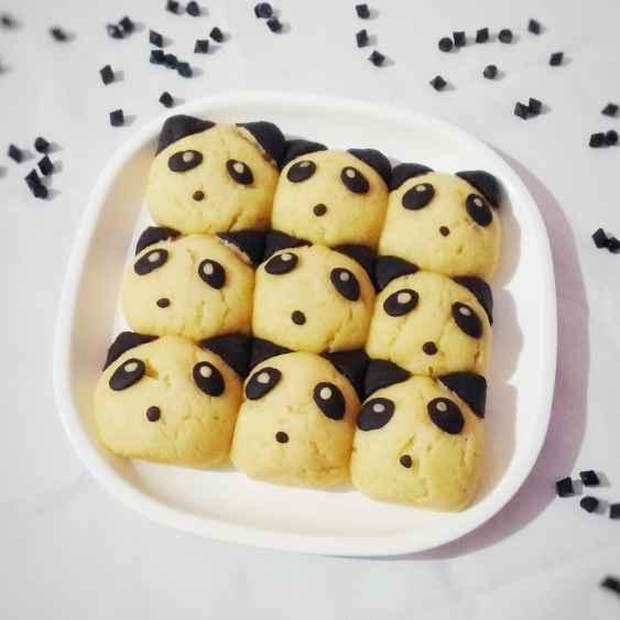 How to make Panda pull apart bread