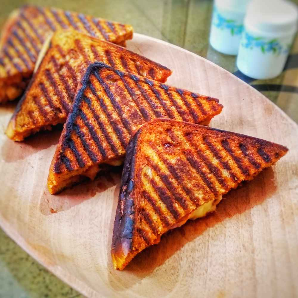 Photo of Grilled chicken cheese sandwich by Lopamudra Mukherjee at BetterButter