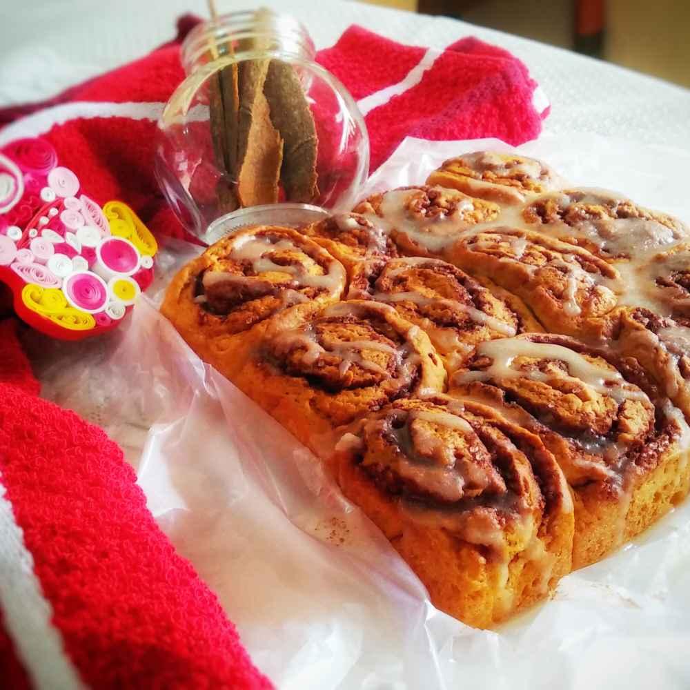 Photo of Cinnamon rolls with vanilla glaze by Lopamudra Mukherjee at BetterButter