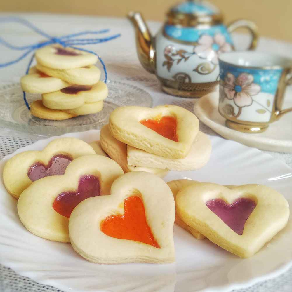 Photo of Stained glass cookies by Lopamudra Mukherjee at BetterButter
