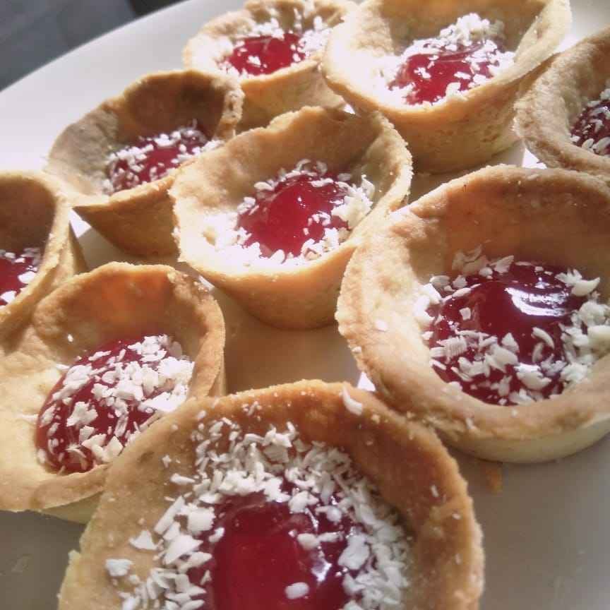 How to make Jam tarts.