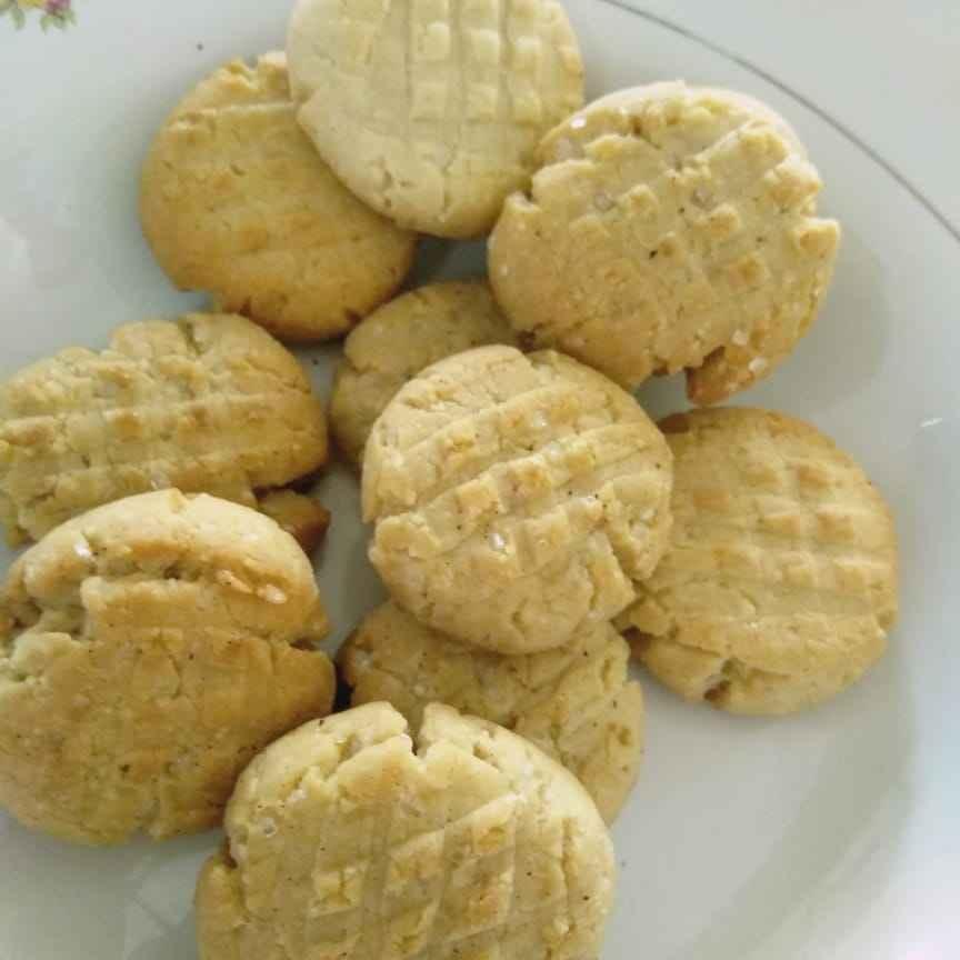 Photo of Peanut butter cookies. by Lovesh Kumawat at BetterButter