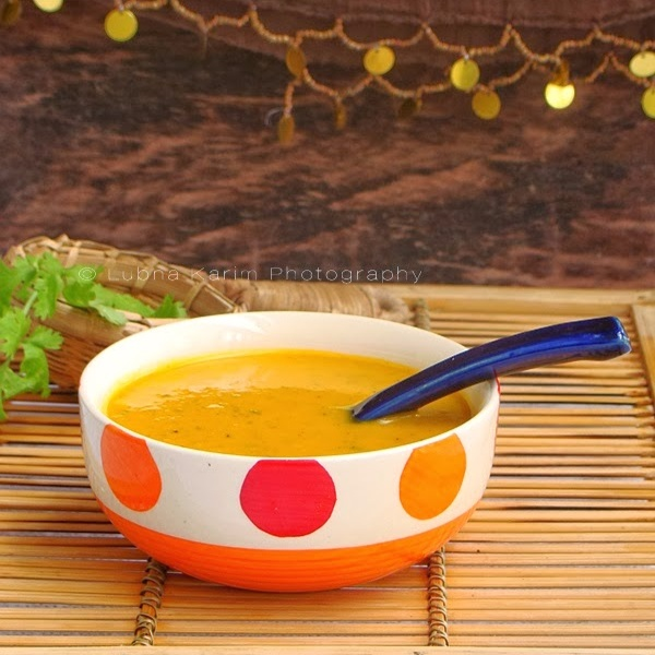 Photo of Carrot and Coriander Soup by Lubna Karim at BetterButter