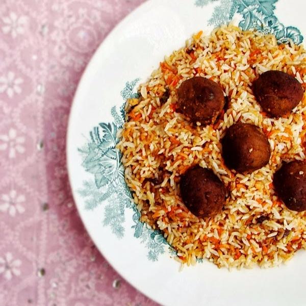Photo of Kofta Biryani/Spicy Minced Lamb Meat Balls Pilaf by Lubna Karim at BetterButter