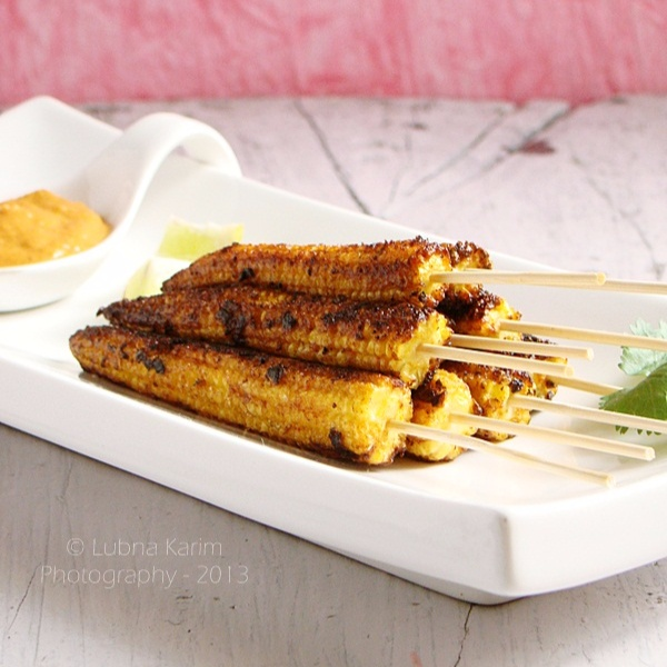 Photo of Babycorn Satay by Lubna Karim at BetterButter