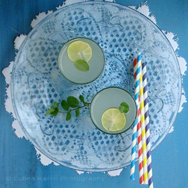 How to make Mint Lime-ade