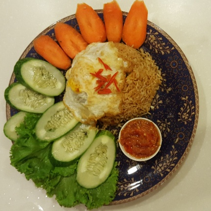 Photo of Nasi Goreng Telur Indonesian/ Fried Rice with Egg by Lubna Sharif at BetterButter