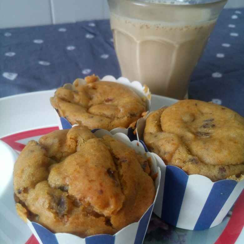 Photo of Date and Walnut Muffins by Madhavi Modha at BetterButter
