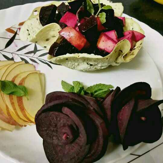 Photo of Apple Beetroot salad by Madhu Makhija at BetterButter