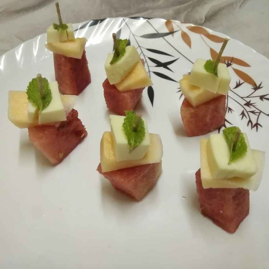 How to make Melon salad