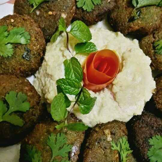 Photo of Falafel With Hummus by Madhu Makhija at BetterButter