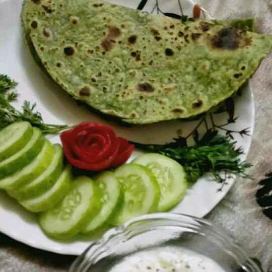 How to make Palak Roti