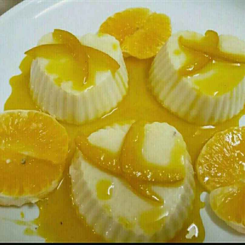 How to make Orange Pannacotta