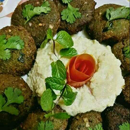Photo of Falafel (hummus ke sath) by Madhu Makhija at BetterButter