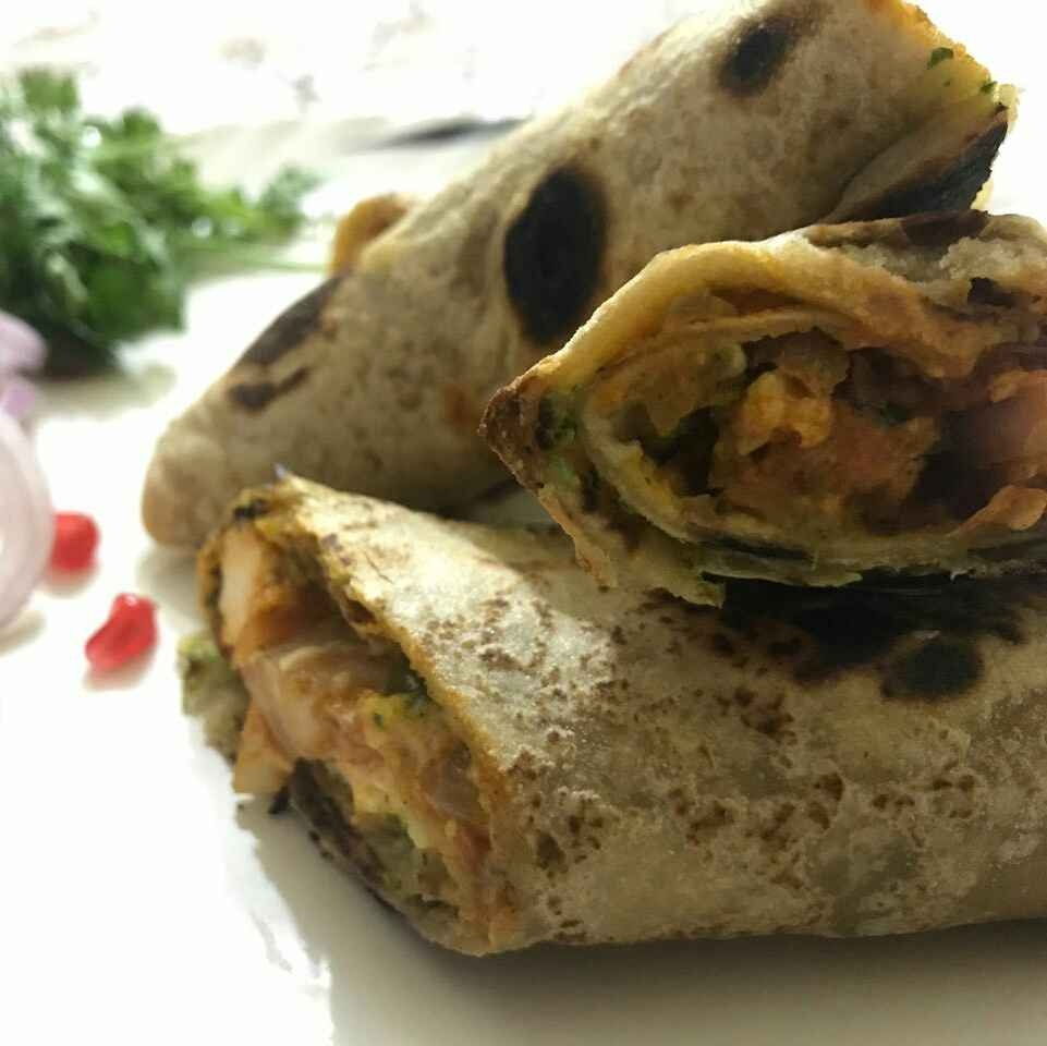 How to make Kathi roll