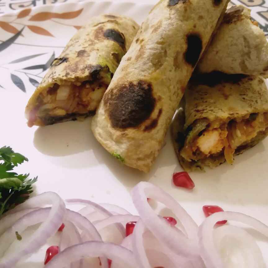 Photo of Kathi roll by Madhu Makhija at BetterButter