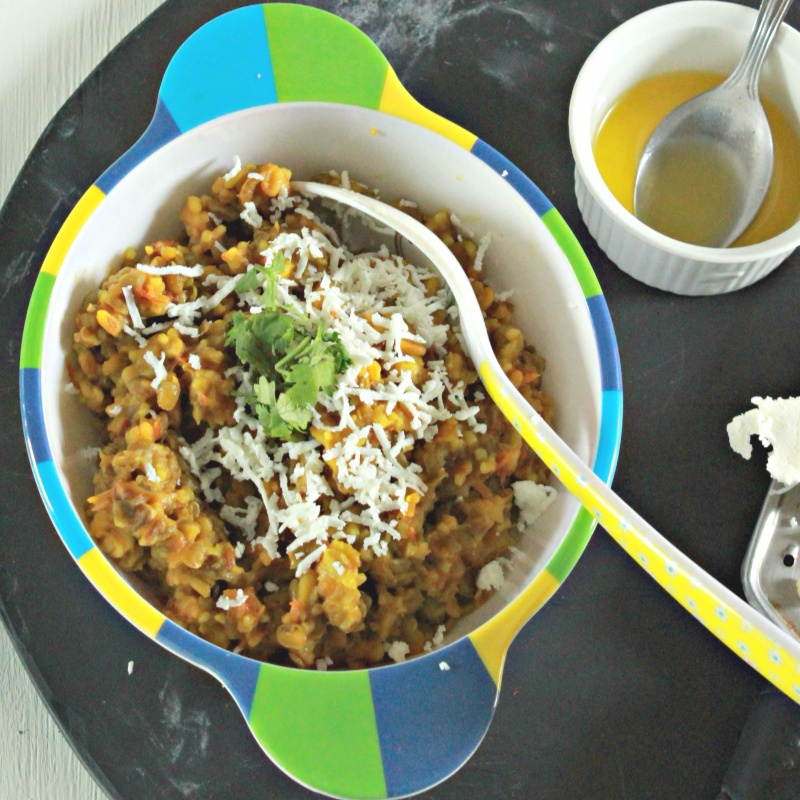 Photo of Dalia Khichdi for toddlers(1+ yr) by Madhulata Juneja at BetterButter