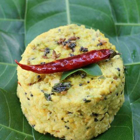Photo of Ambe Dal (Chana Dal- Raw Mango side dish/snack/salad) by Madhuli Ajay at BetterButter