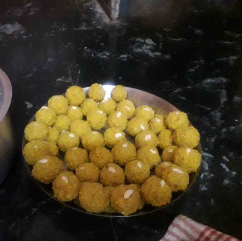 Photo of Motichoor Ladoo by Madhumati Shinde at BetterButter