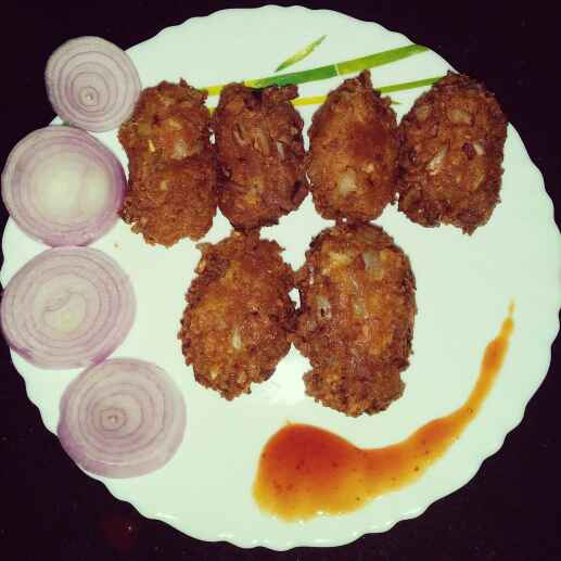 Photo of Schezwan Cheese Fritters by Madhumita Bhowmick Chakraborty at BetterButter