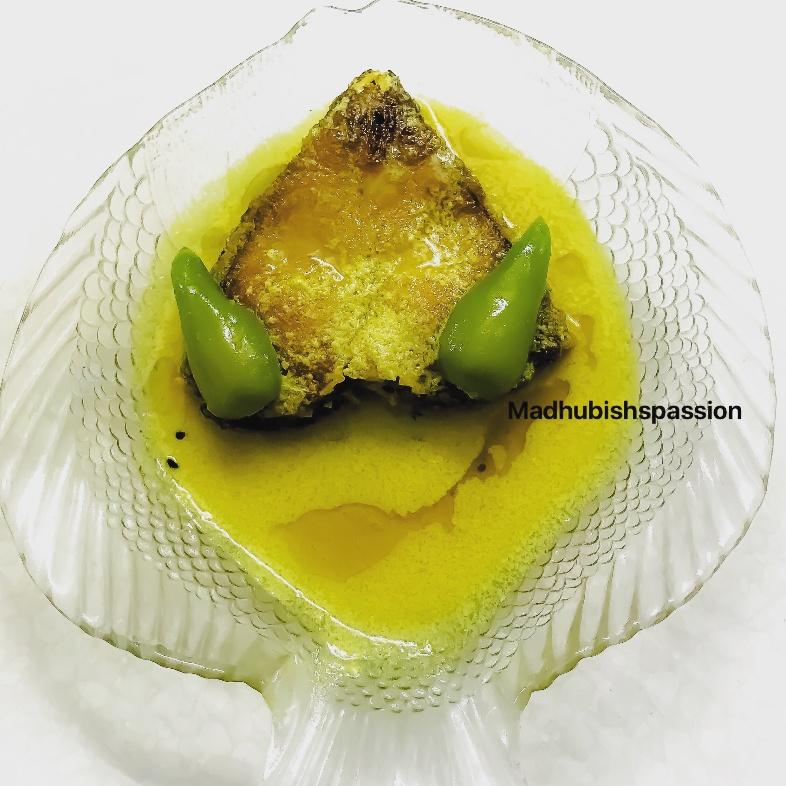 How to make Katla tel jhaal / Katla Fish in mustard